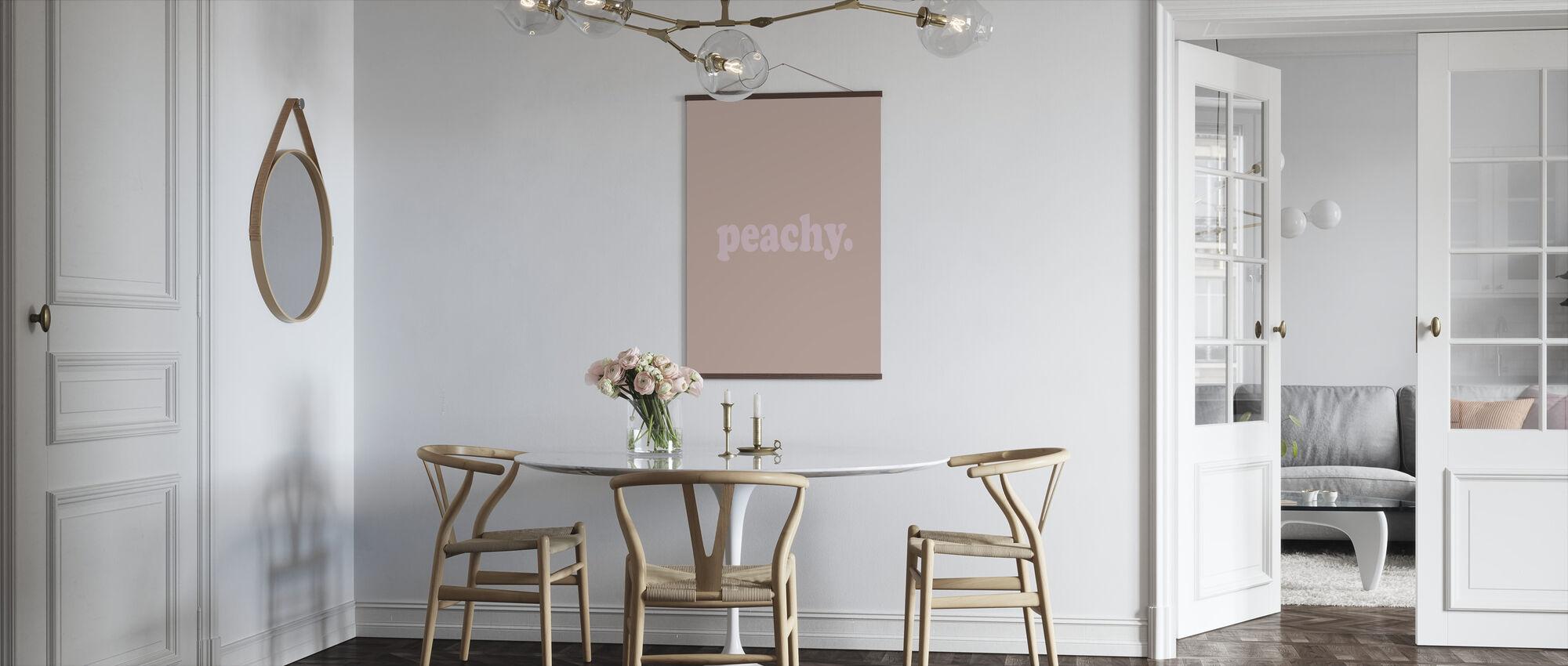 Peachy - Poster - Kitchen