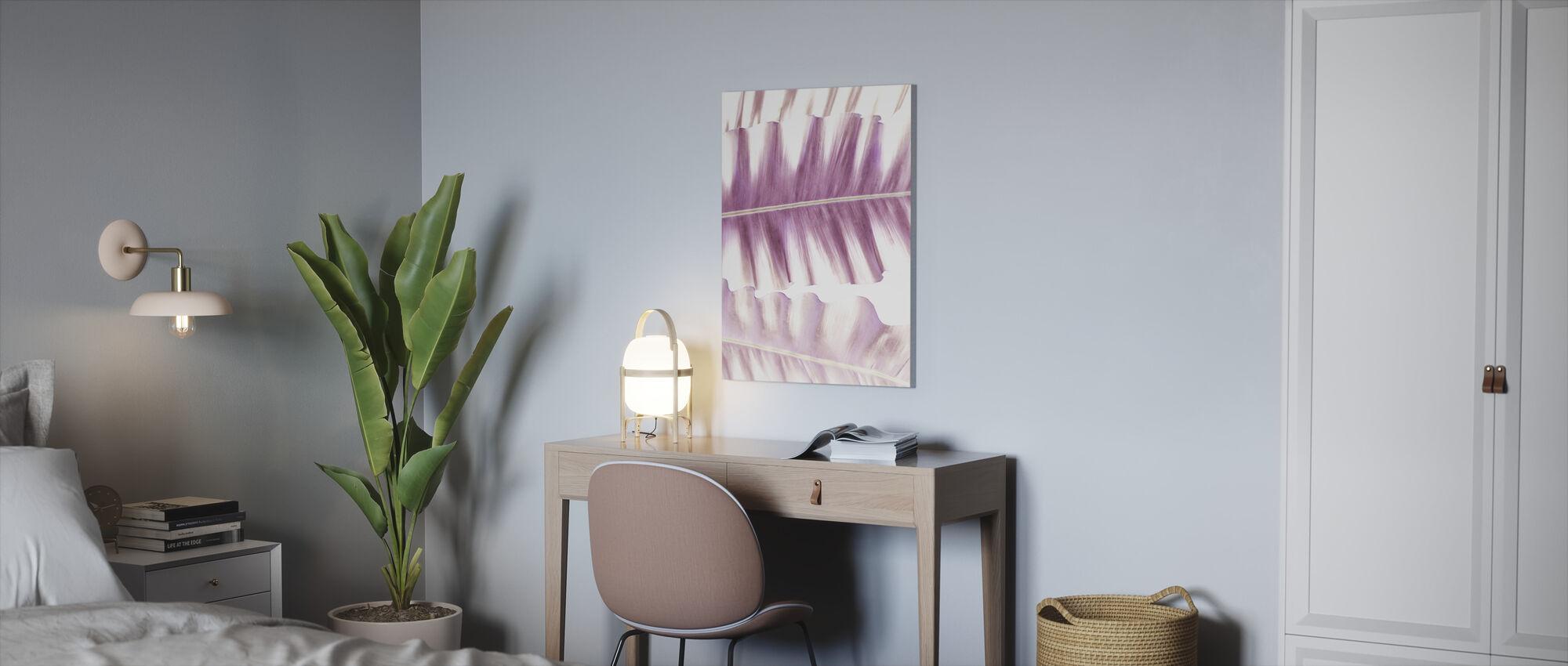 Pink Velvet - Canvas print - Office