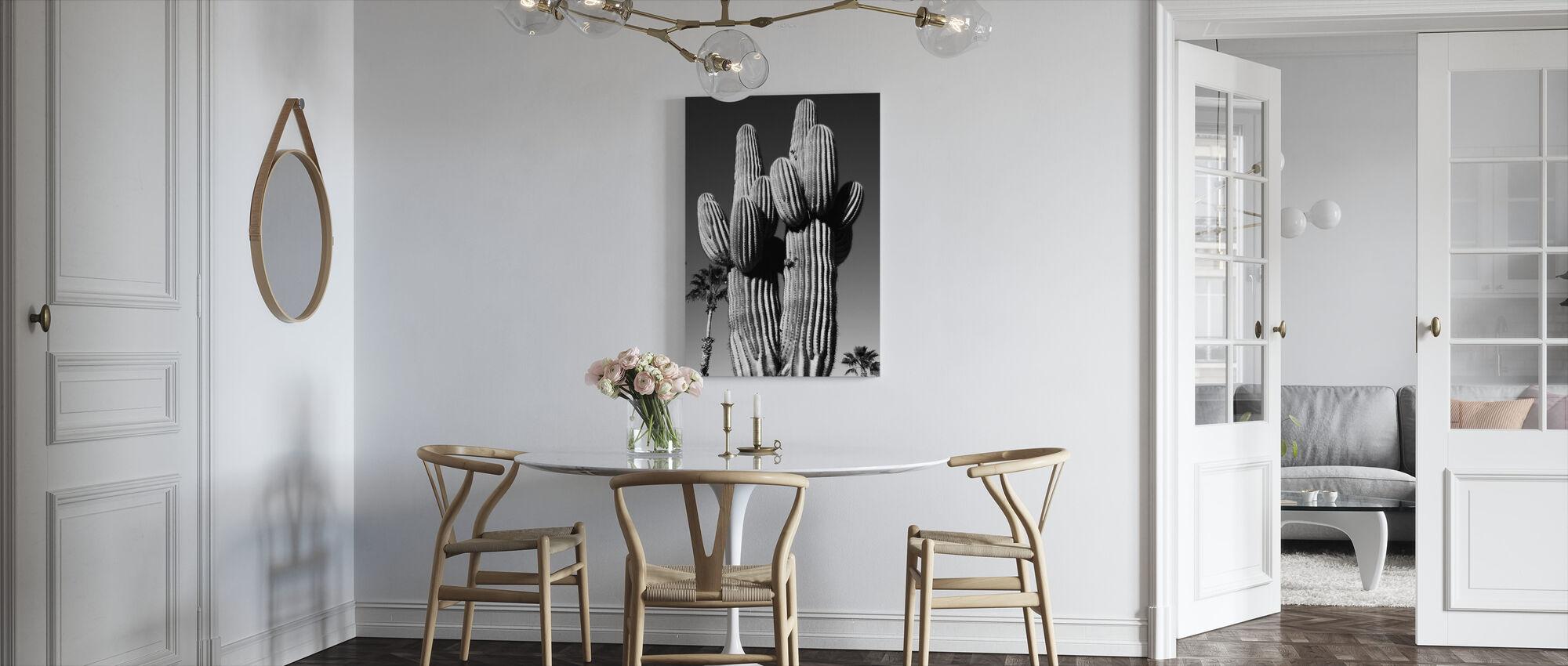 Saguaro Palm - Canvas print - Kitchen