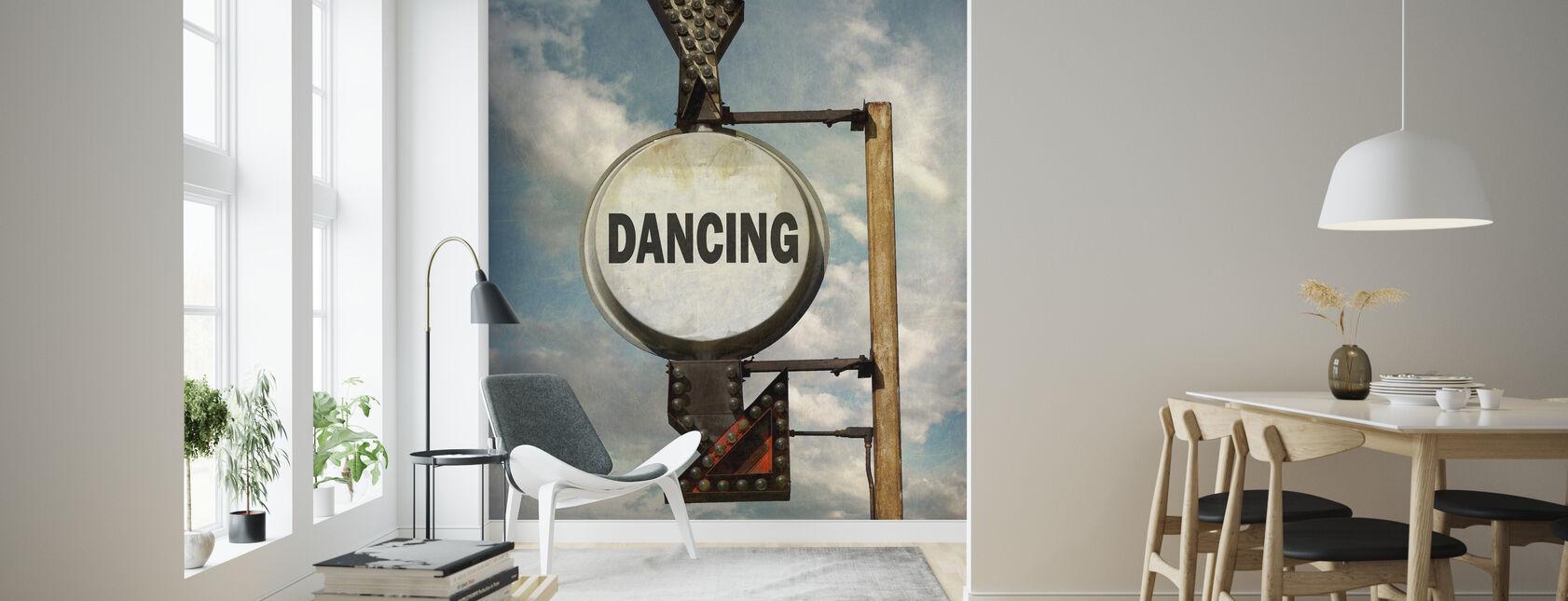 Danser - Tapet - Stue