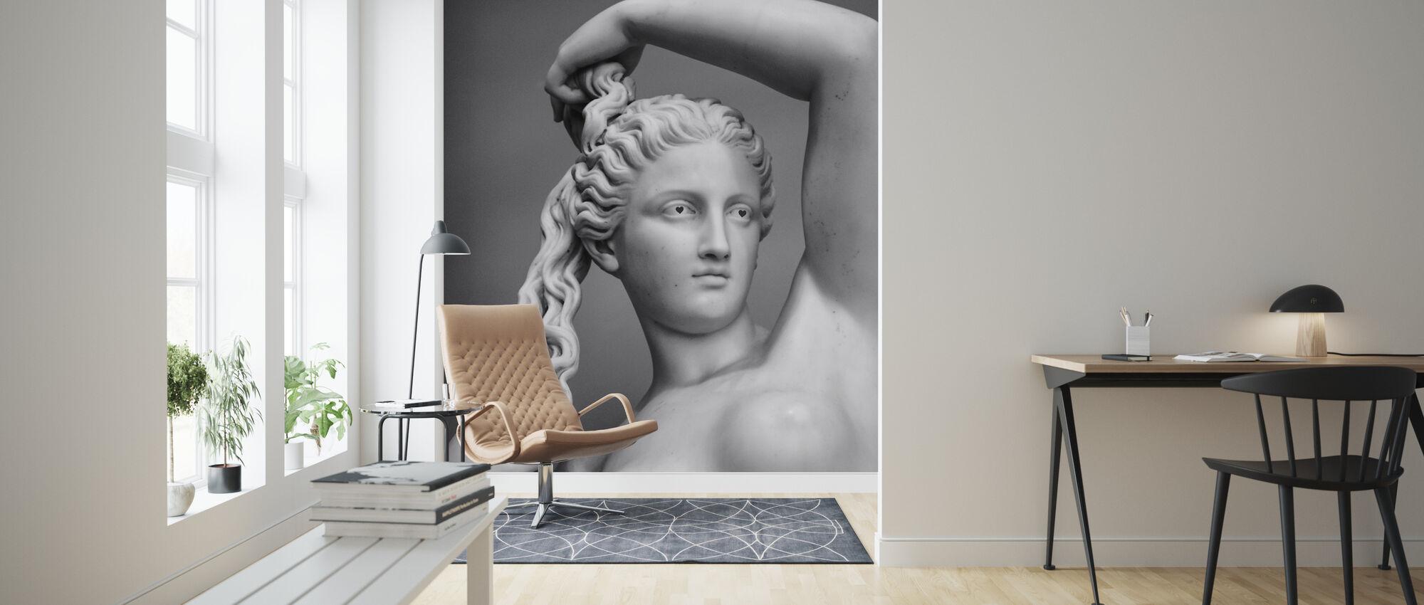 Love Goddess - Wallpaper - Living Room