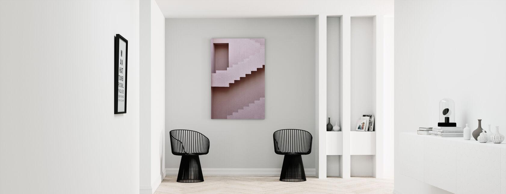 Next Level - Canvas print - Hallway