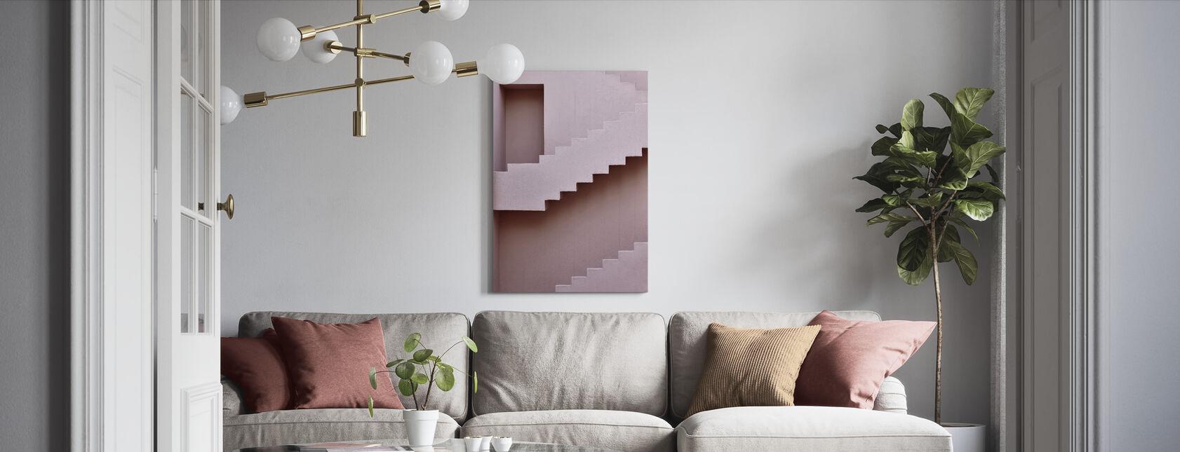 Volgend niveau - Canvas print - Woonkamer
