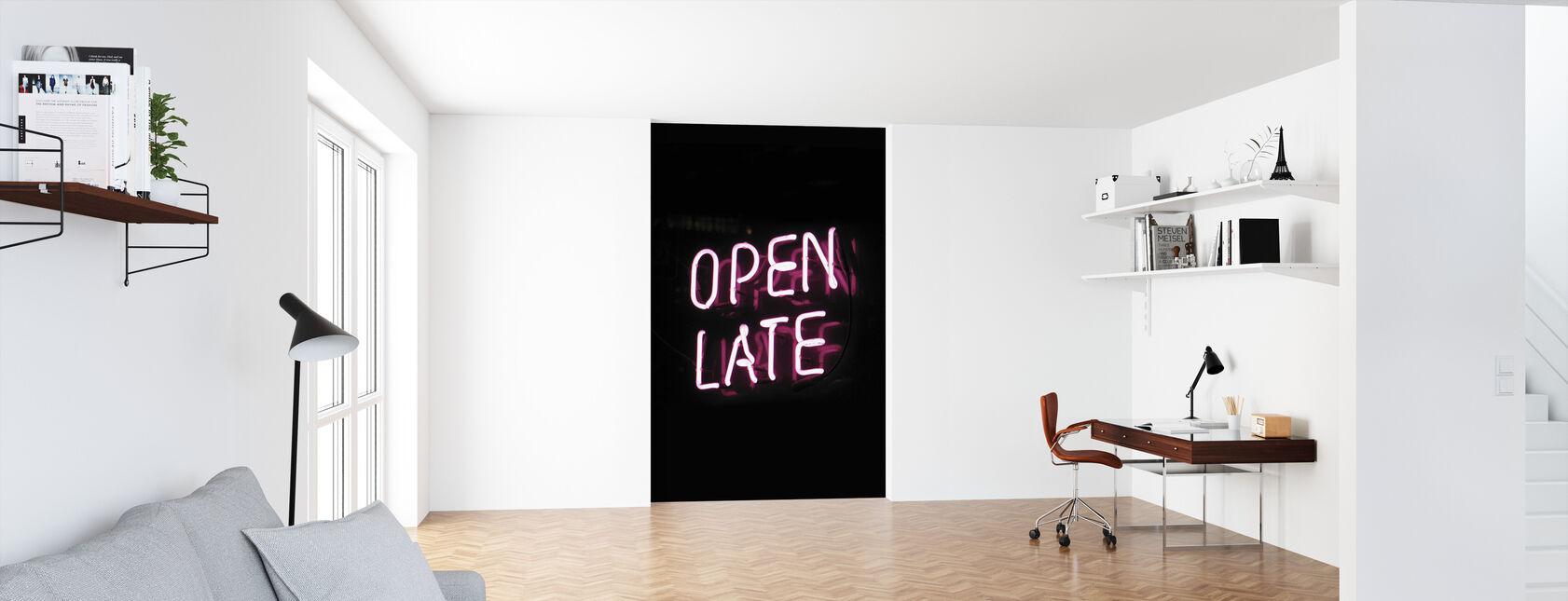 Open Late - Behang - Kantoor