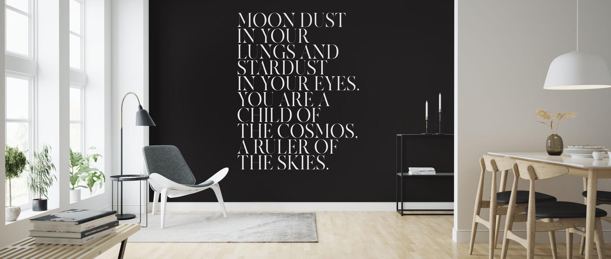 Kosmos - Tapet - Stue