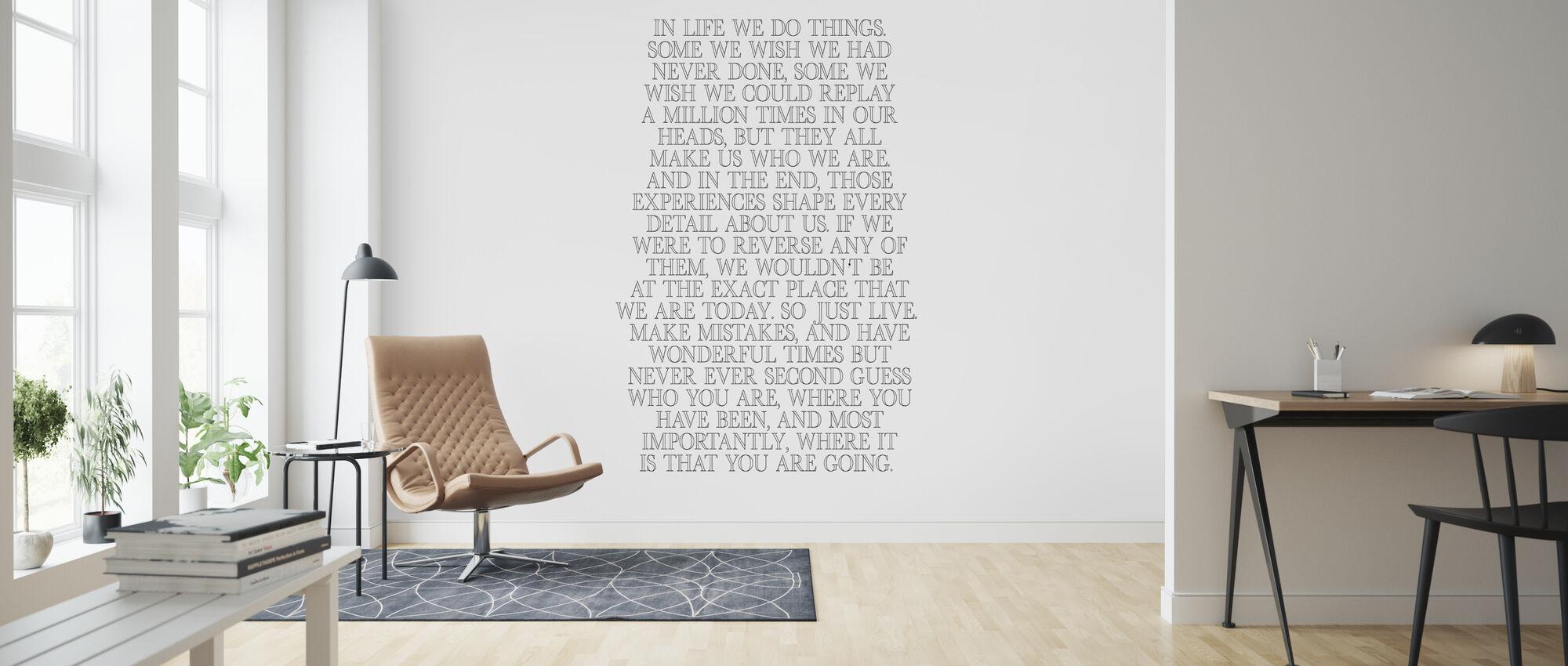In Life - Wallpaper - Living Room