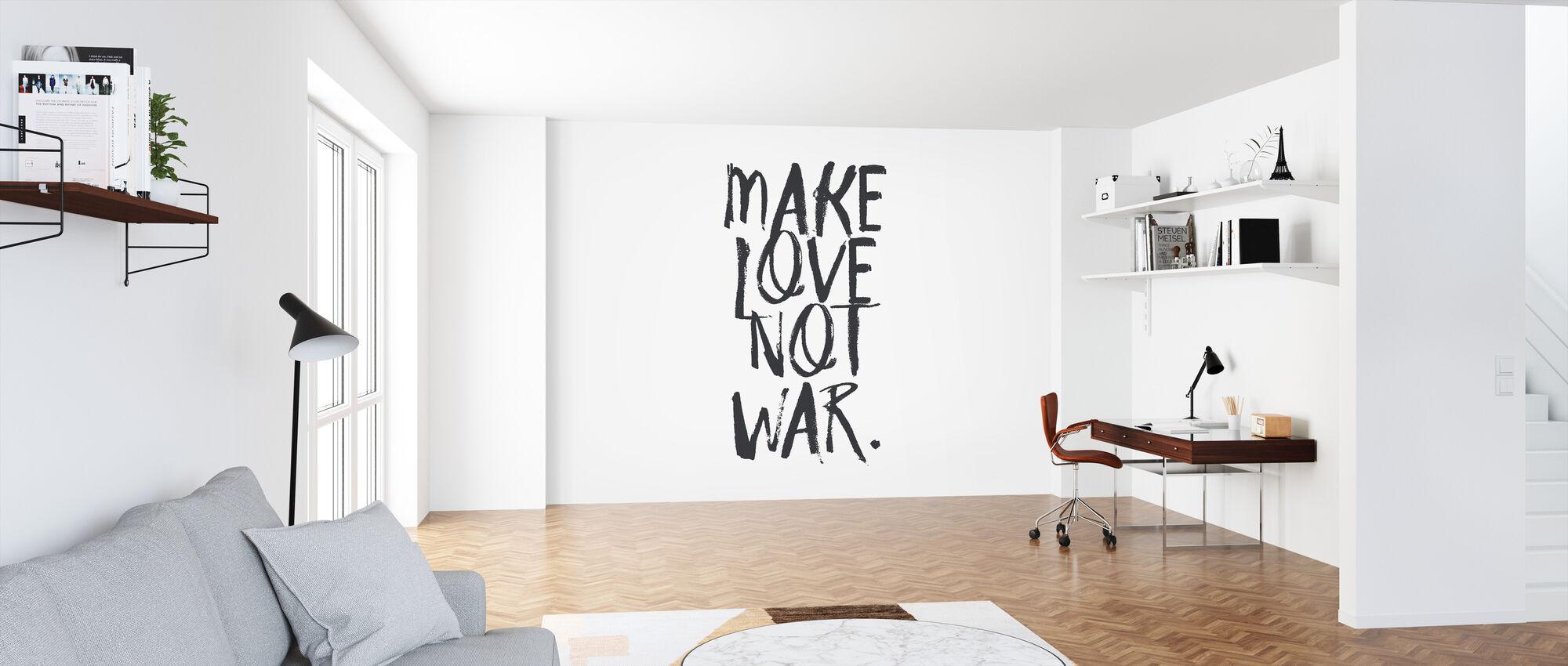 Make Love Not War - Wallpaper - Office