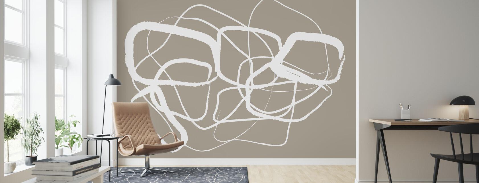 Objective - Wallpaper - Living Room