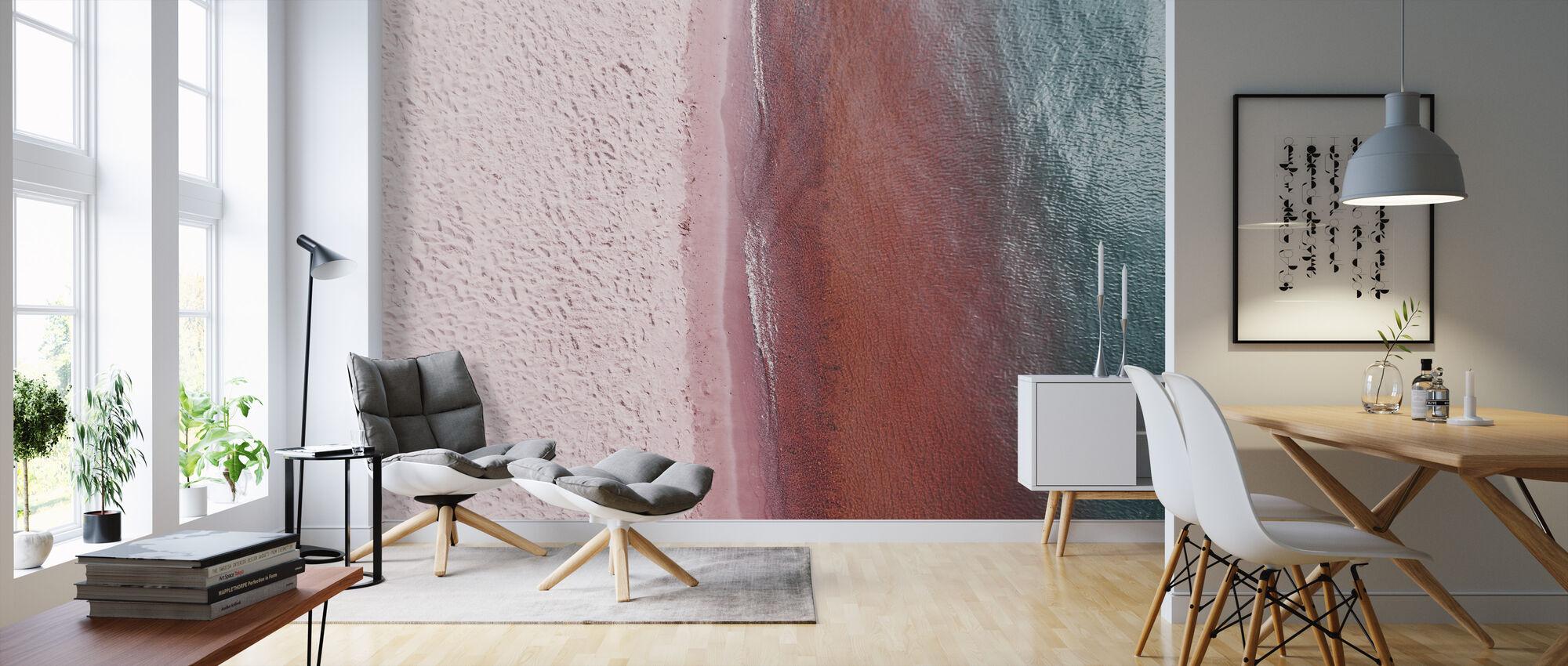 Pink Earth - Wallpaper - Living Room