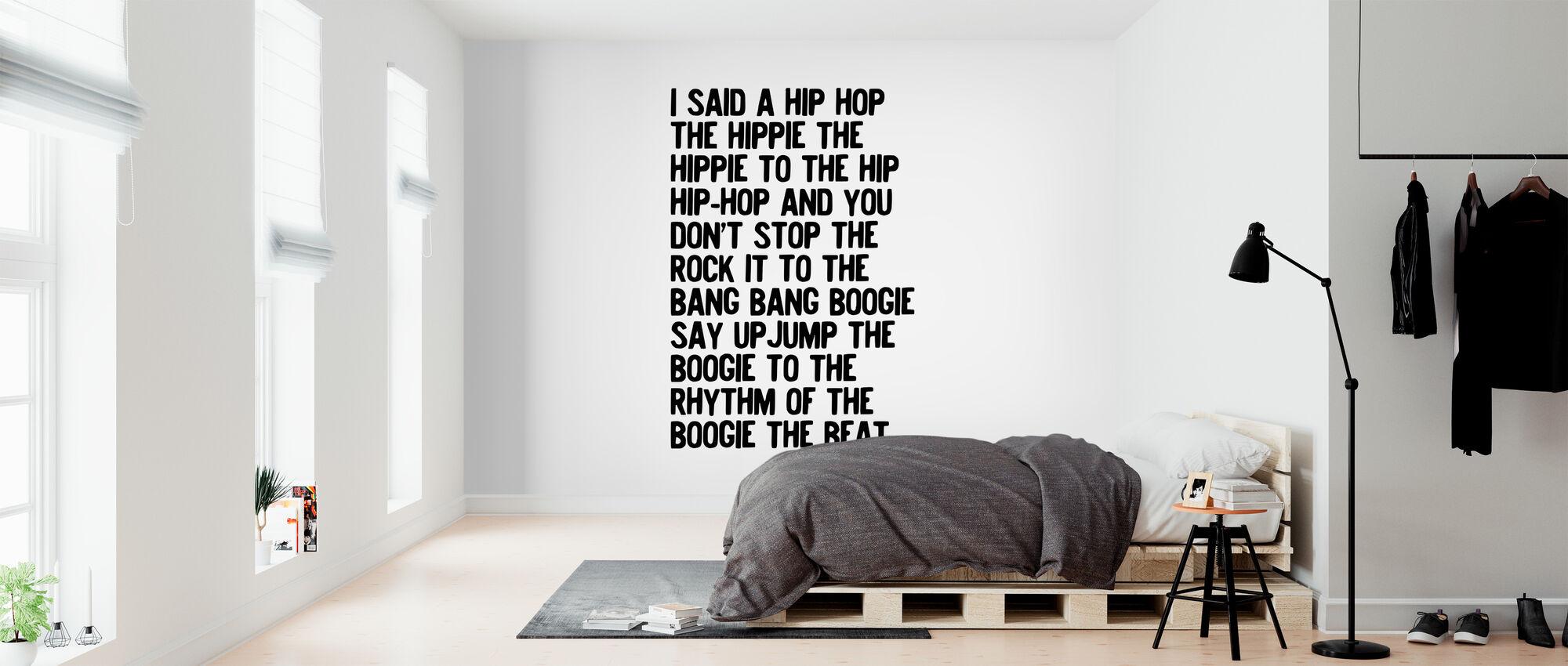 Rappers Delight - Wallpaper - Bedroom