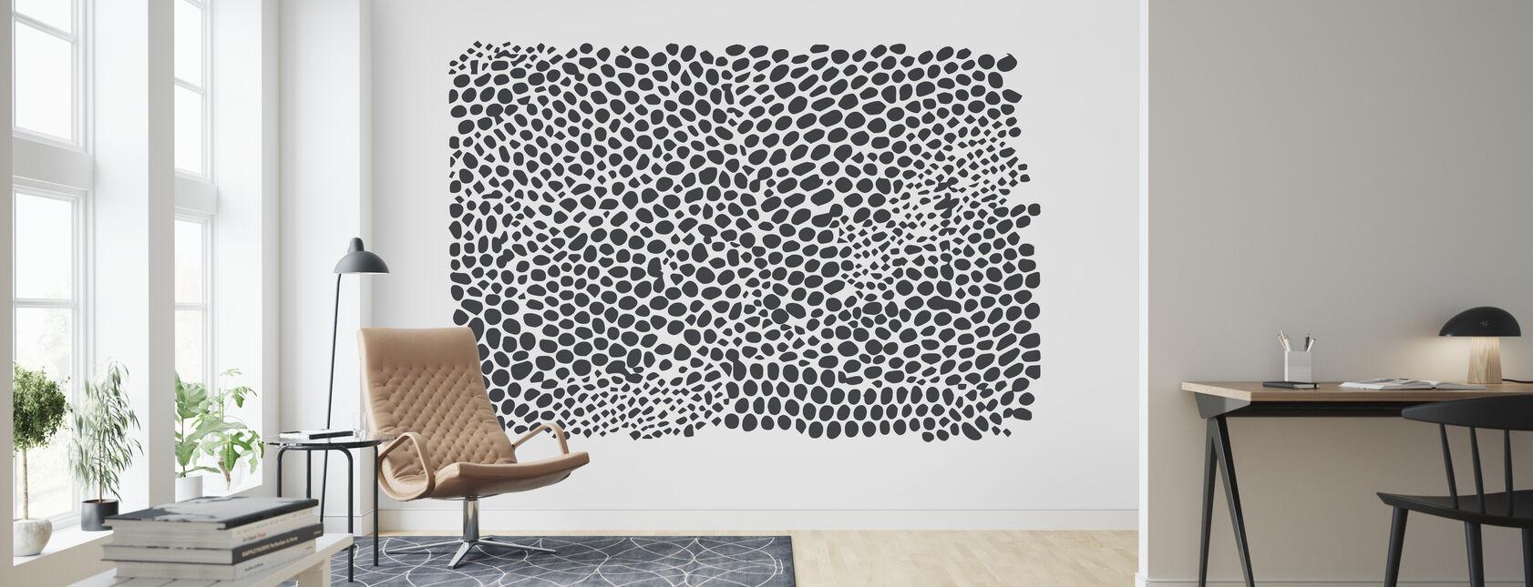 Snakeskin - Wallpaper - Living Room