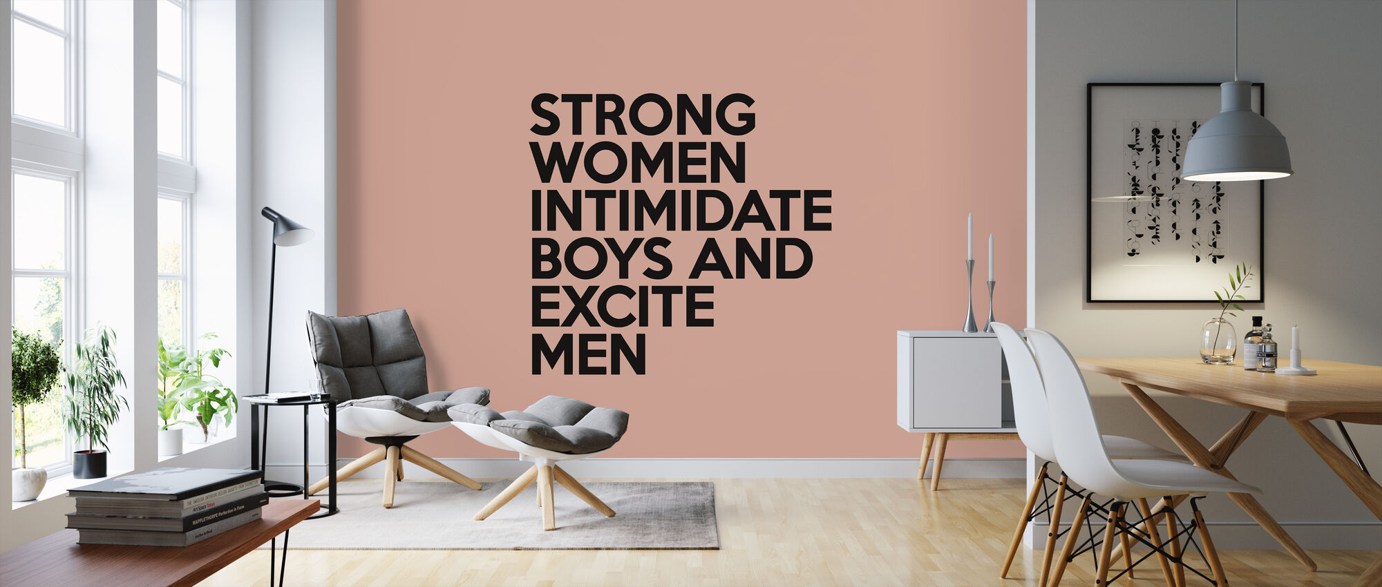 Strong Women - Wallpaper - Living Room