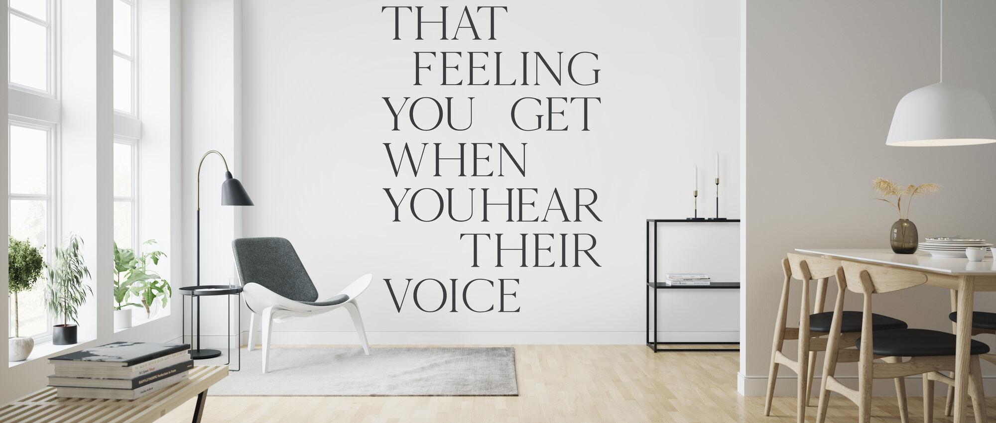 That Feeling You Get - Wallpaper - Living Room