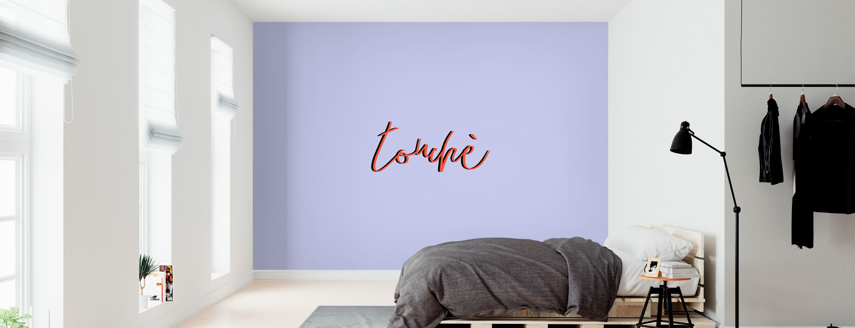 Touche - Wallpaper - Bedroom