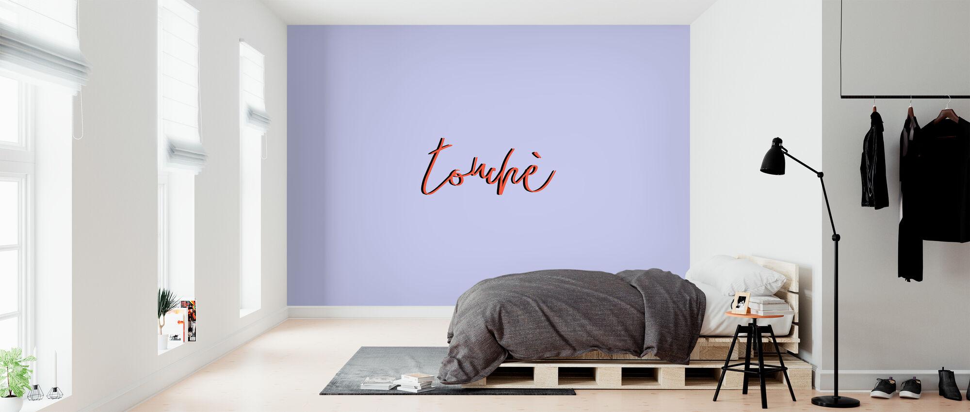 Touche - Wallpaper - Bedroom