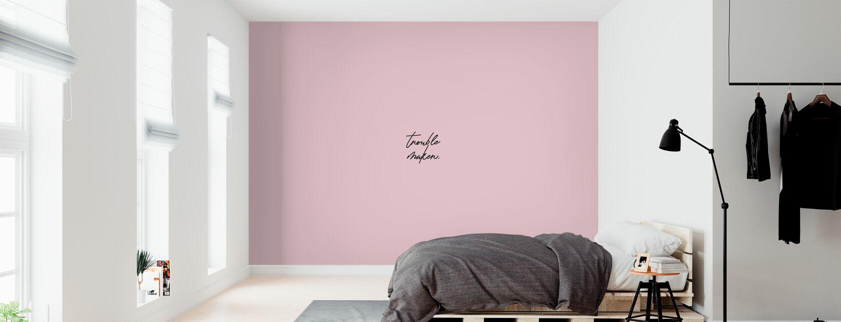 Problemen Maker - Behang - Slaapkamer
