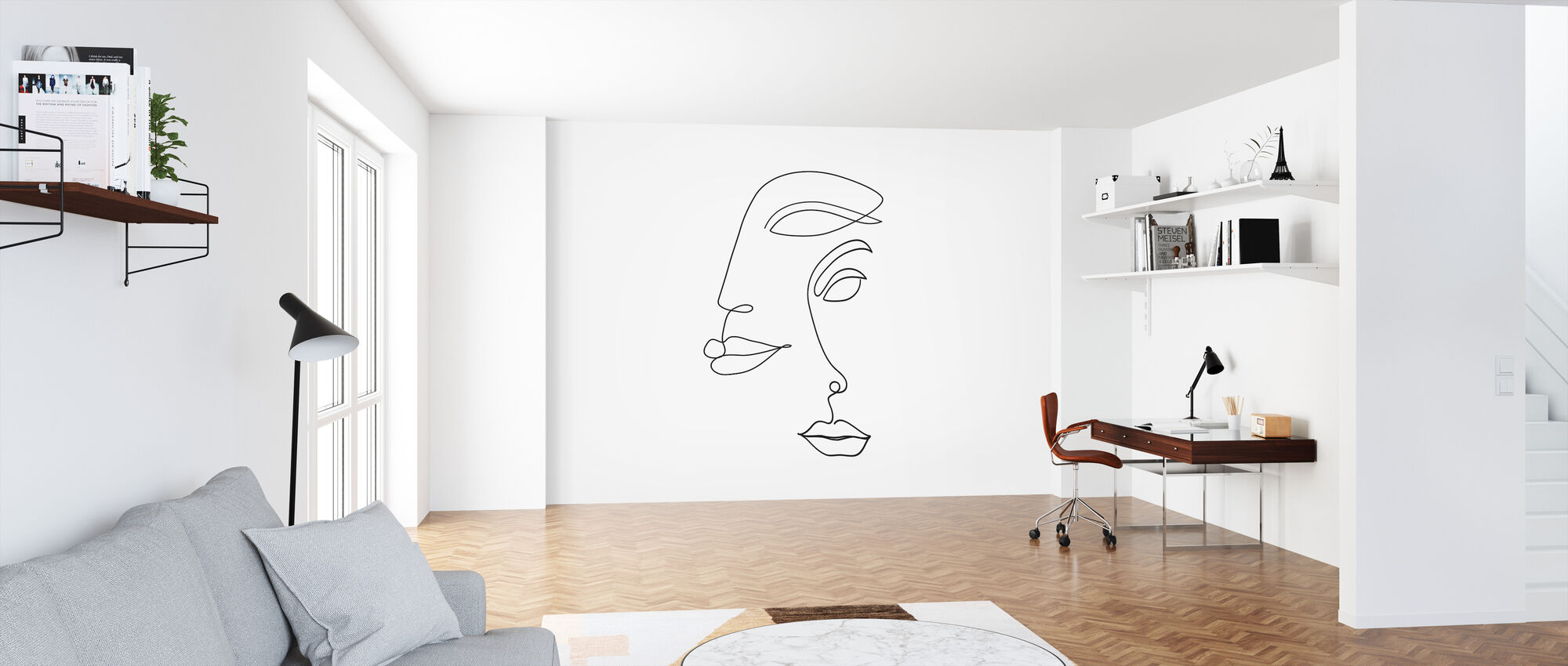 Two Faced - Wallpaper - Office