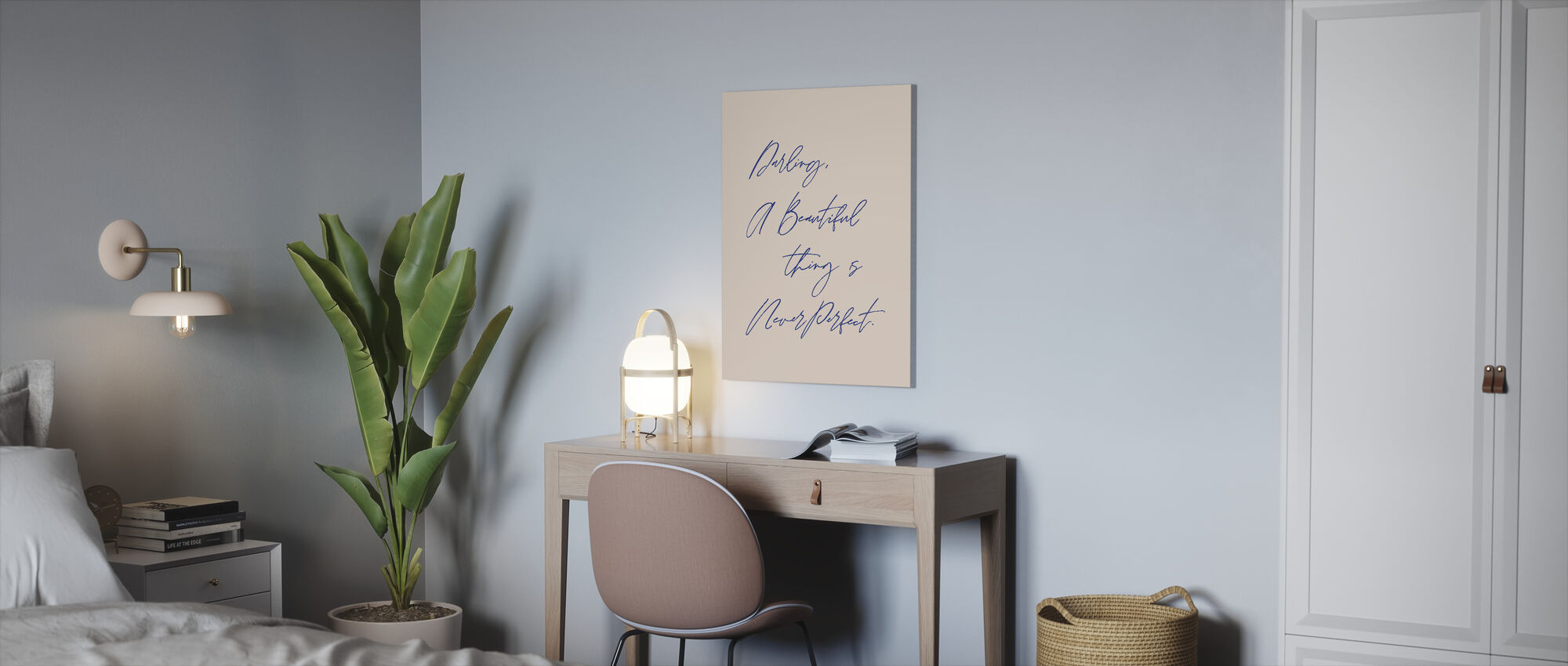 Beautiful Thing - Canvas print - Office