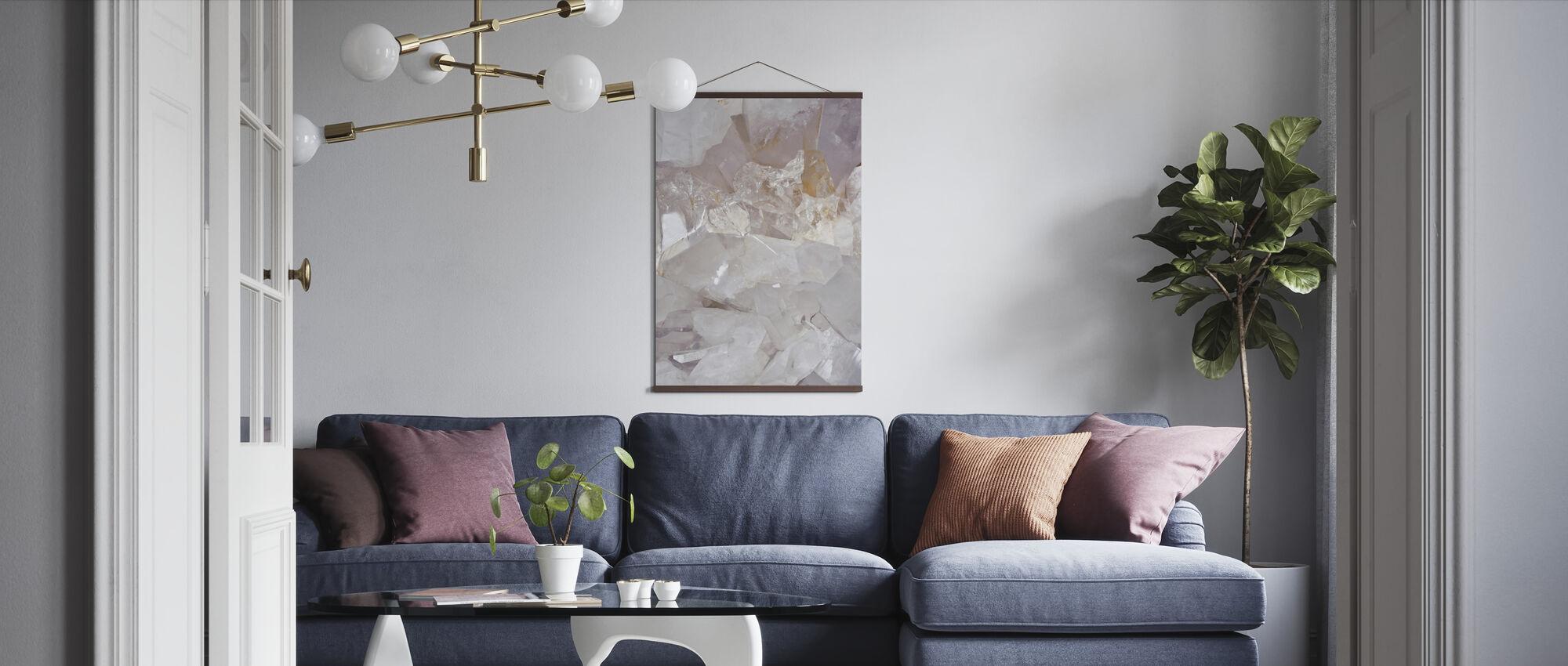 Helder Kwarts - Poster - Woonkamer