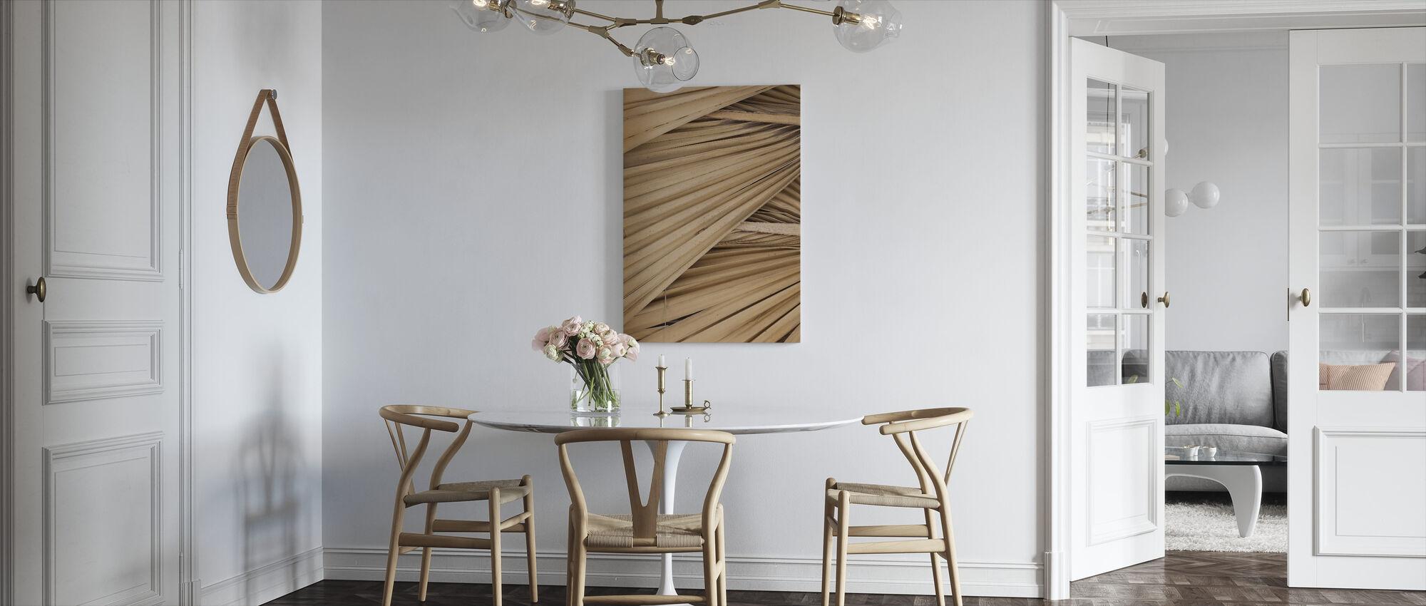 Dried Palms - Canvas print - Kitchen