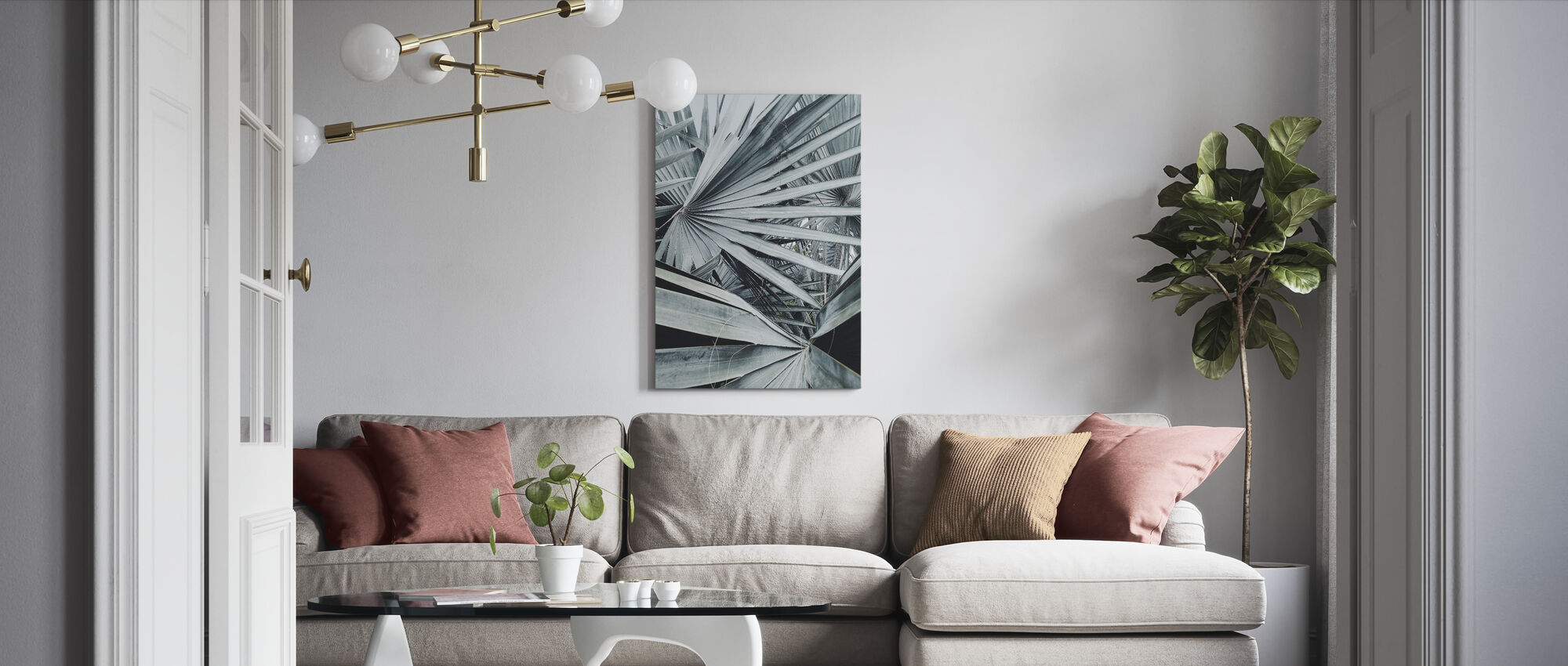 Jungle Out There - Canvas print - Living Room