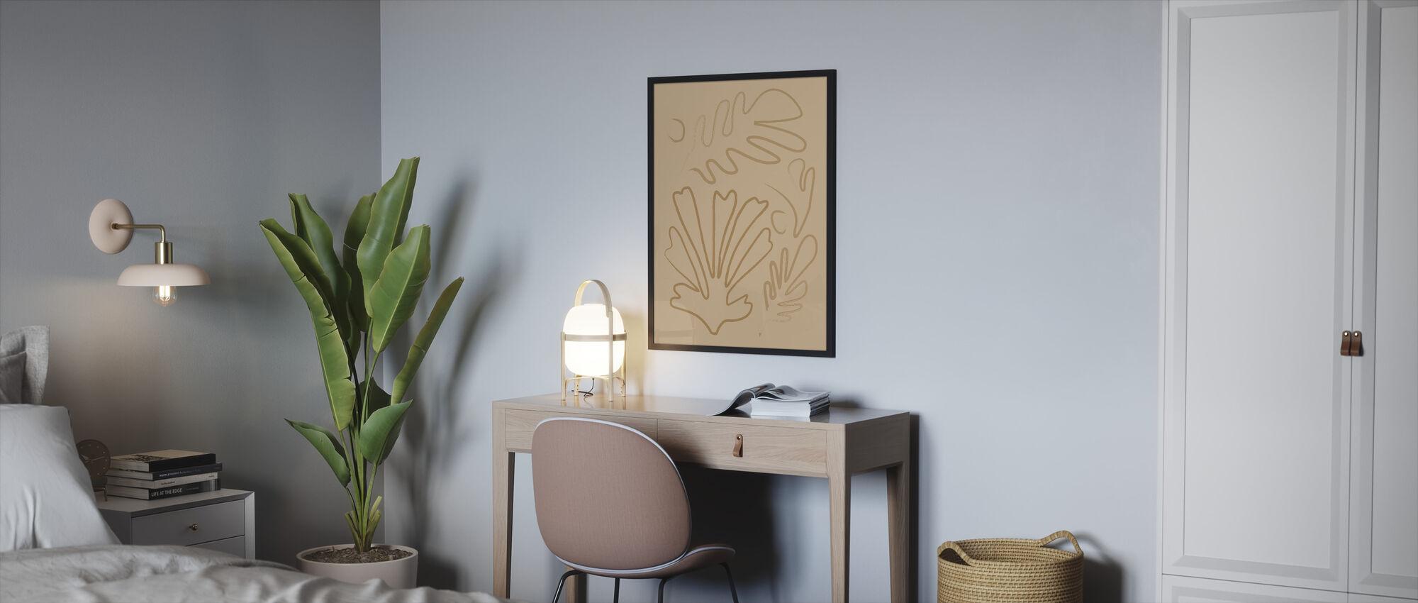 Matisse Blad - Inramad tavla - Sovrum