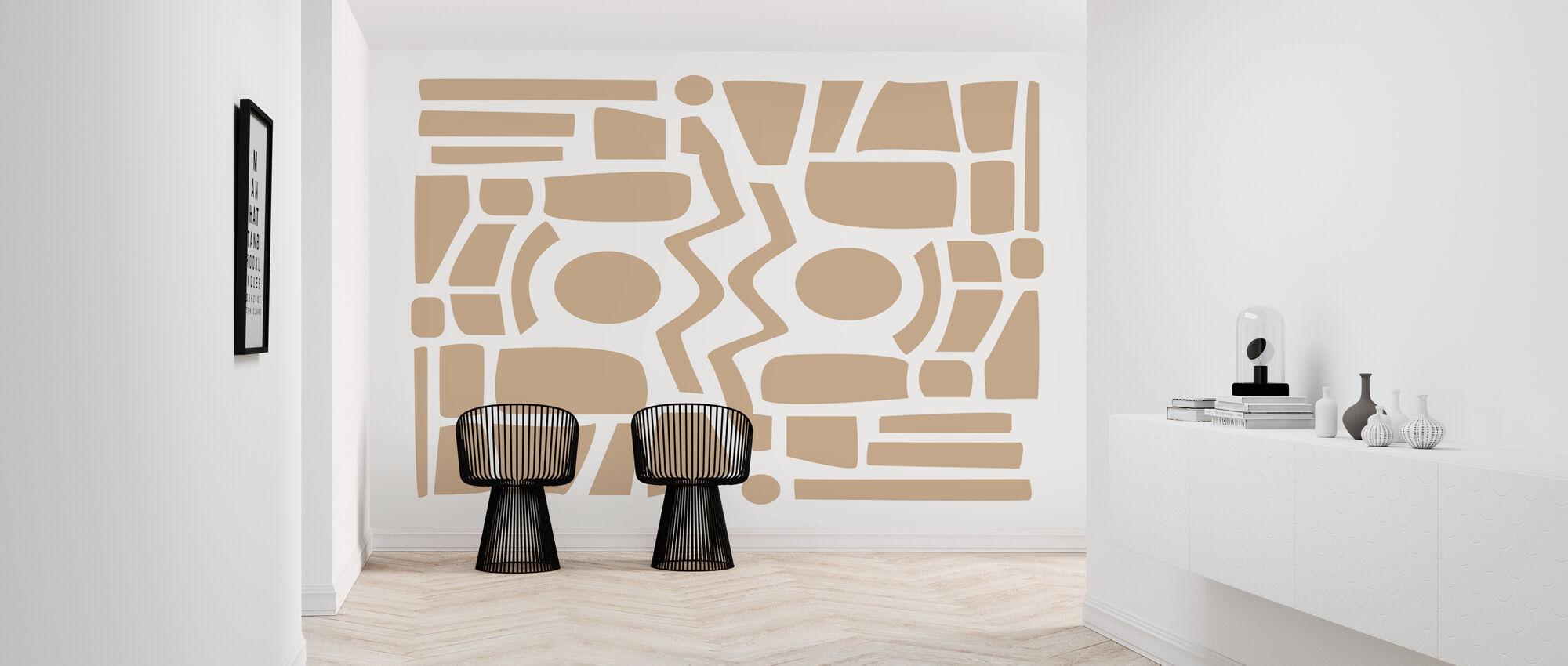 Aztec - Wallpaper - Hallway