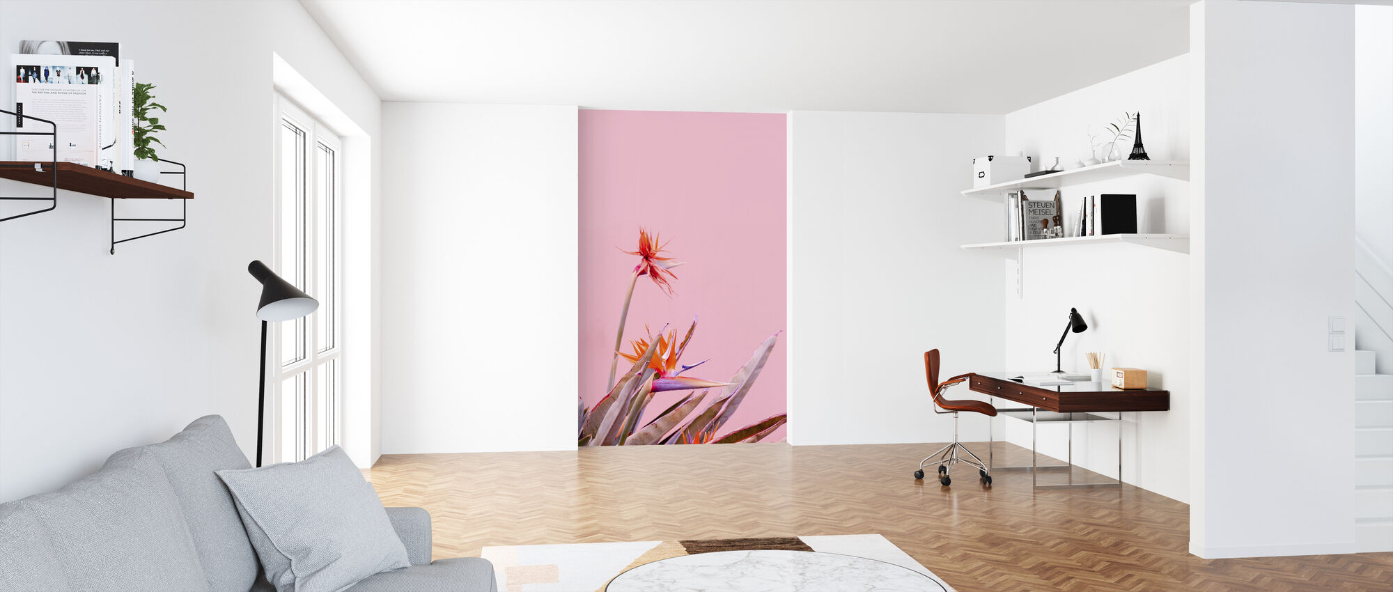 Canary Flowers - Wallpaper - Office