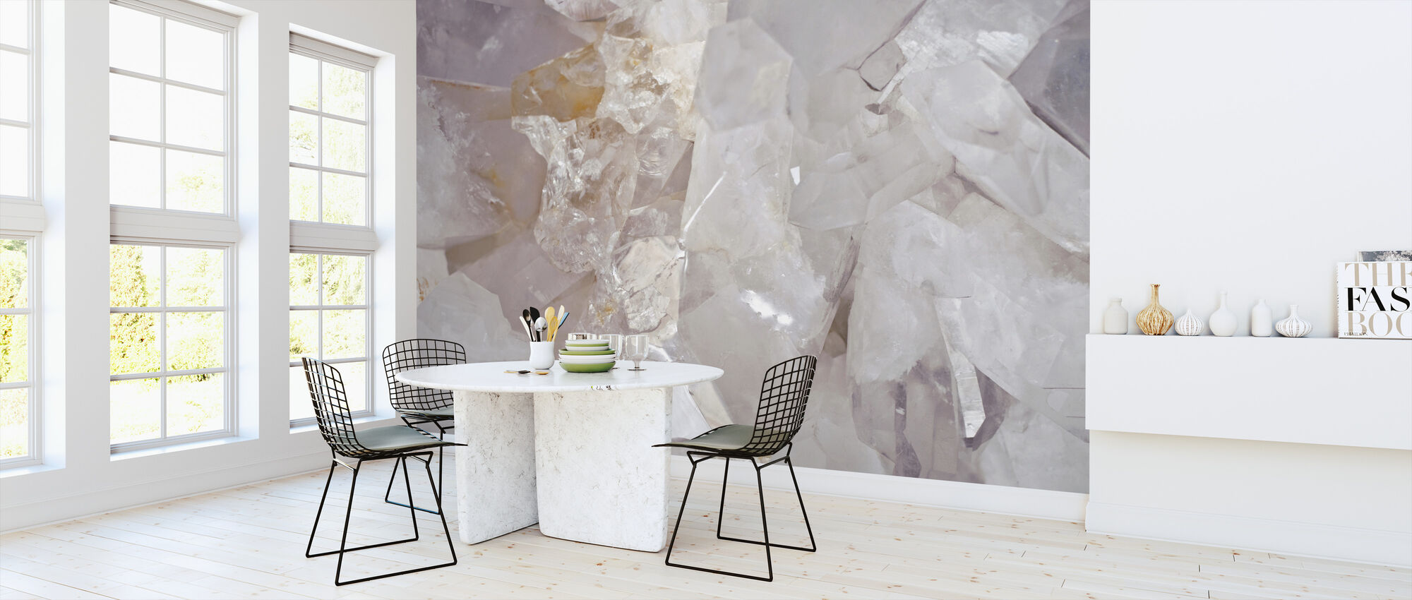 Clear Quartz - Wallpaper - Kitchen