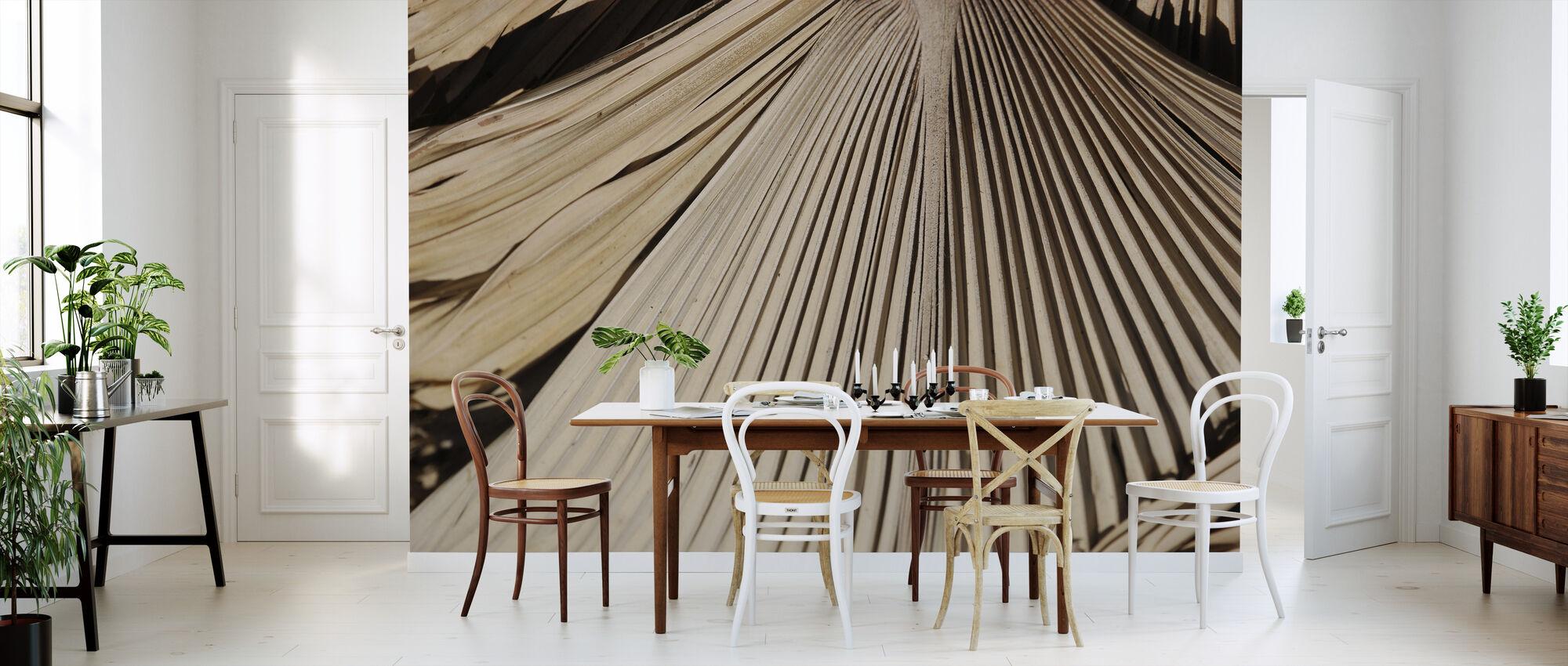 Gedroogde Palmen II - Behang - Keuken