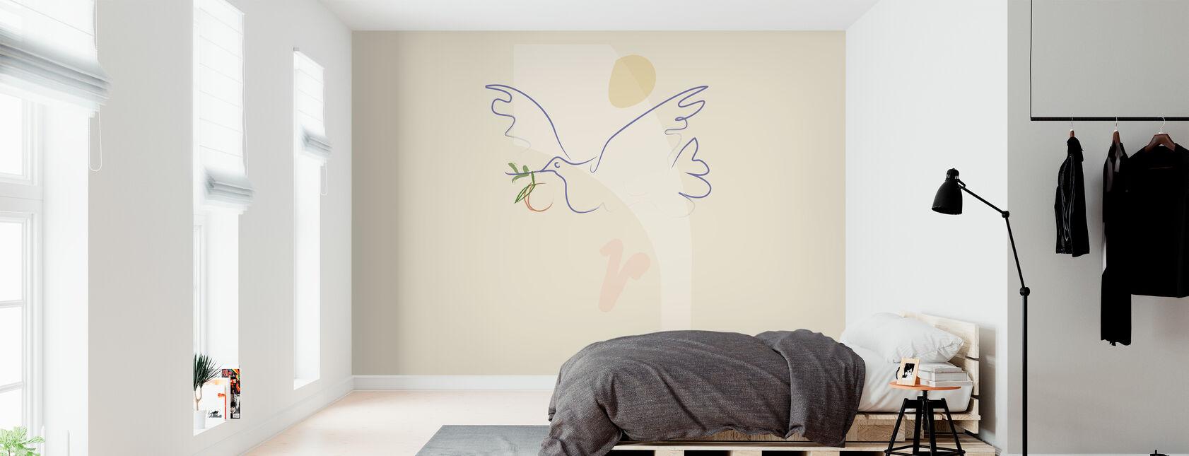 Free Bird - Wallpaper - Bedroom