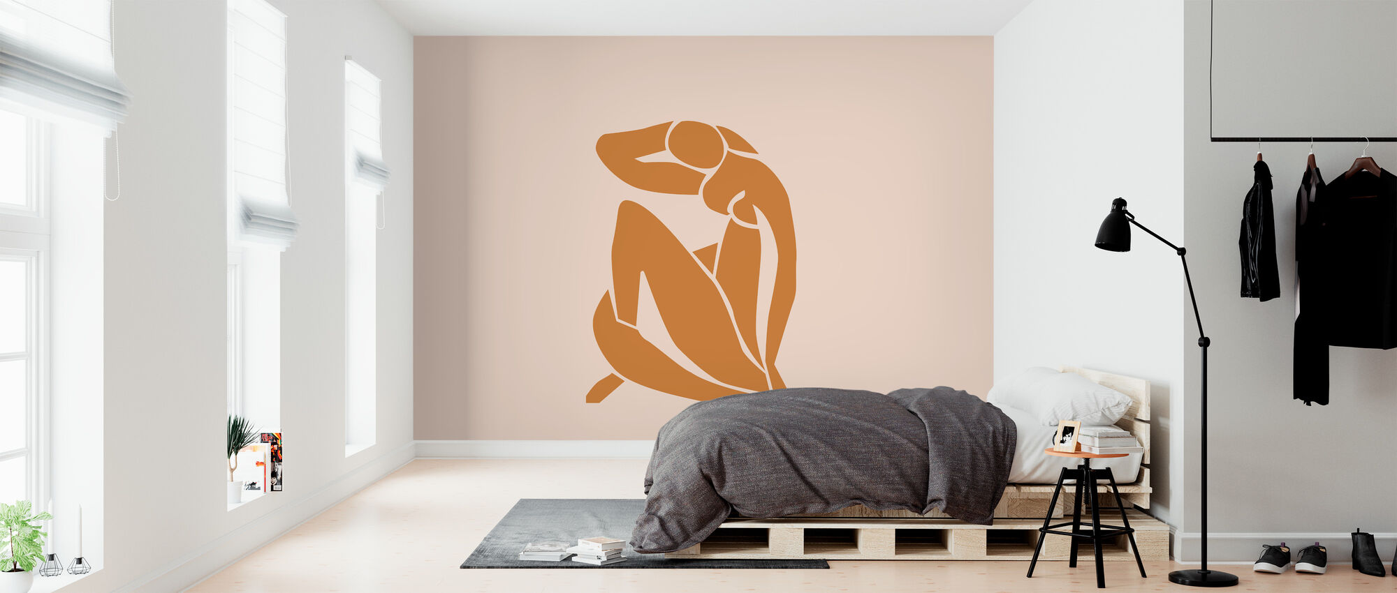 Lady Knelt - Wallpaper - Bedroom