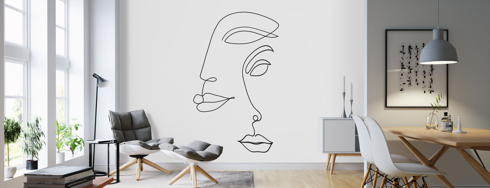 Two Faced - Wallpaper - Living Room