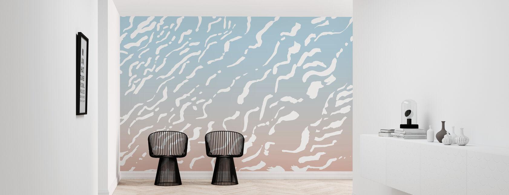 Lineære sanddyner - Tapet - Gang