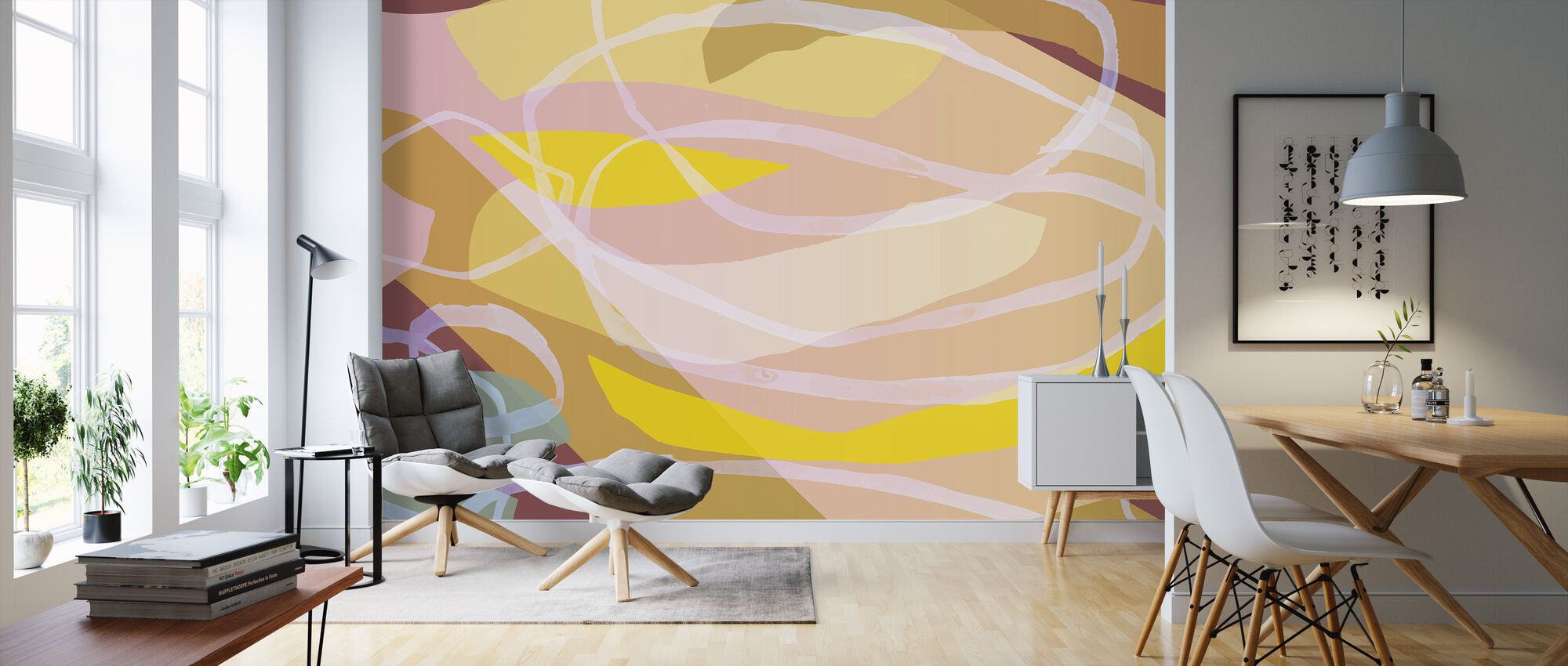 Hurricane Colette - Wallpaper - Living Room