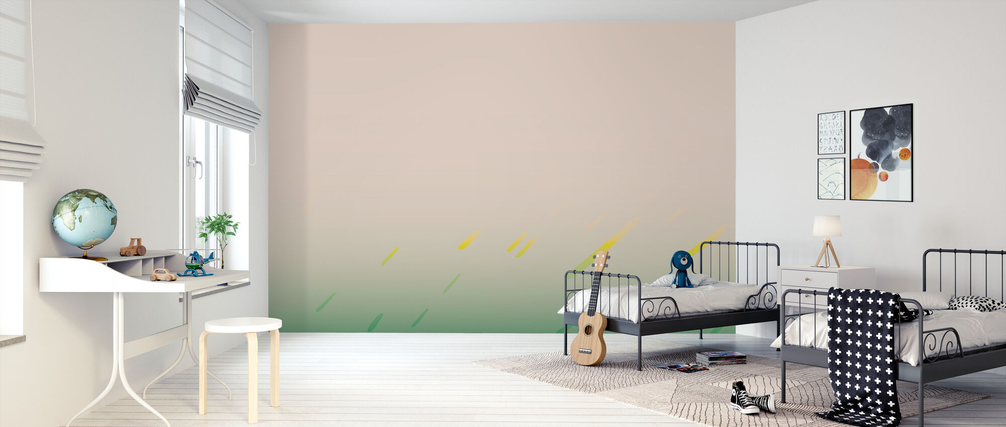 Thunder Rain - Wallpaper - Kids Room
