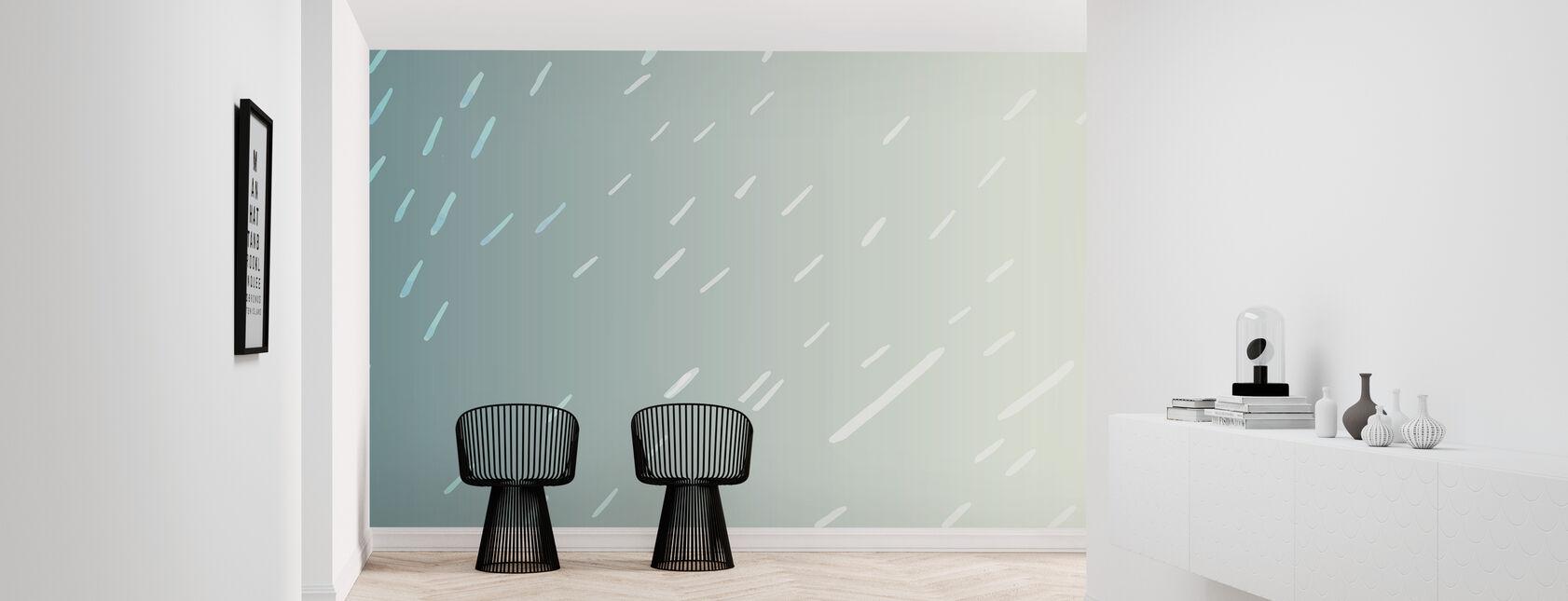 Tropical Rain - Wallpaper - Hallway