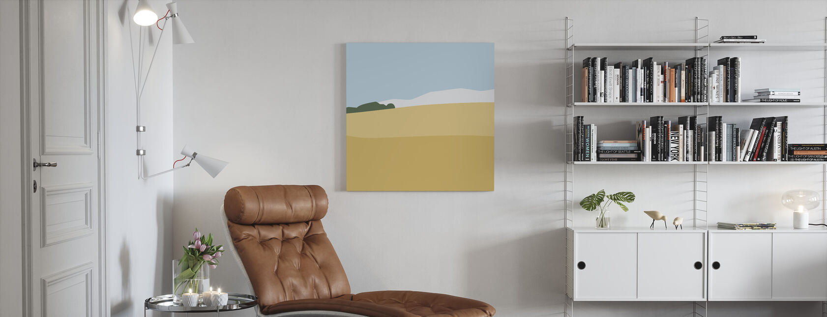 L1 Landscape I - Canvas print - Living Room