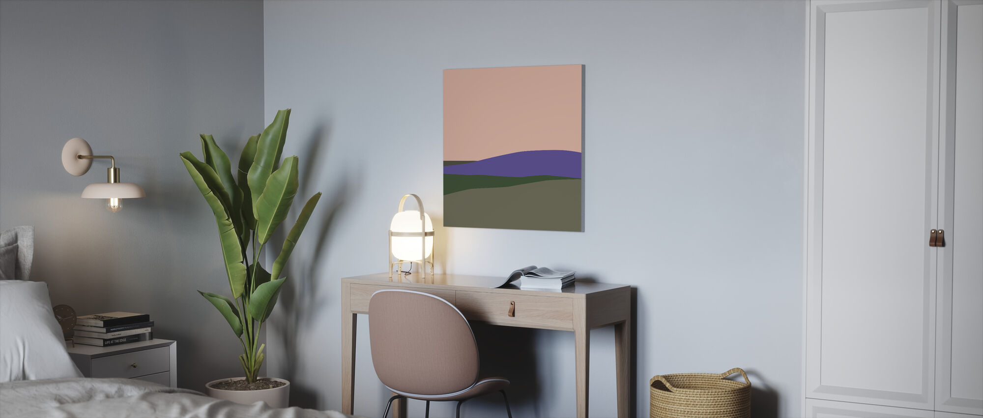 L3 Landscape III - Canvas print - Office