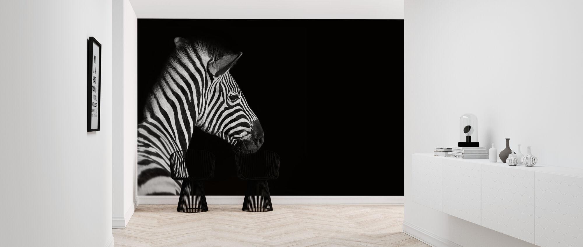 Zebra - Wallpaper - Hallway