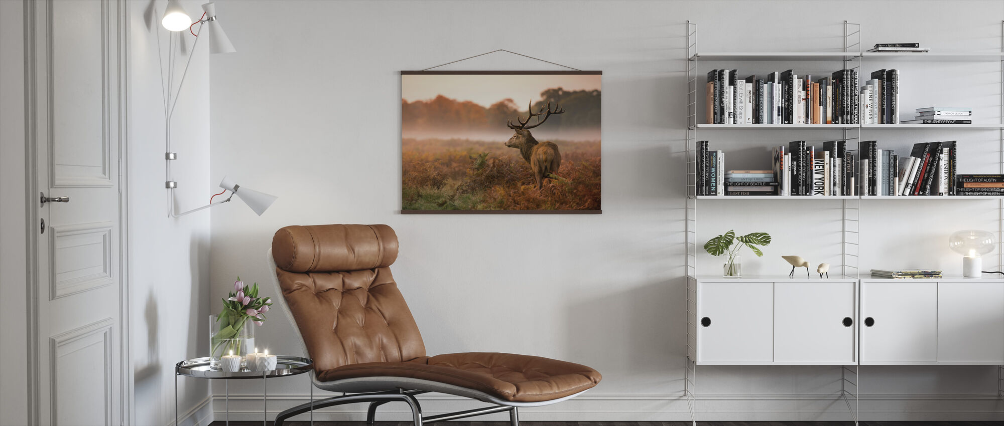 Red Deer Stag - Poster - Living Room