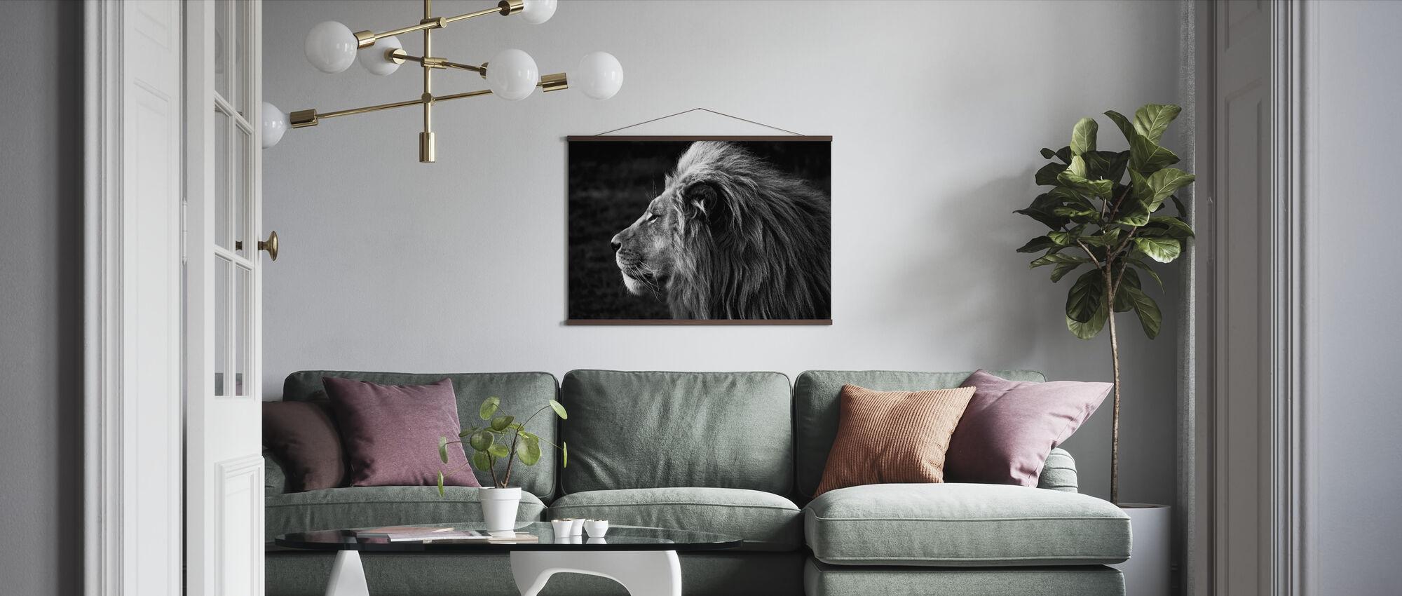 Løve - Plakat - Stue