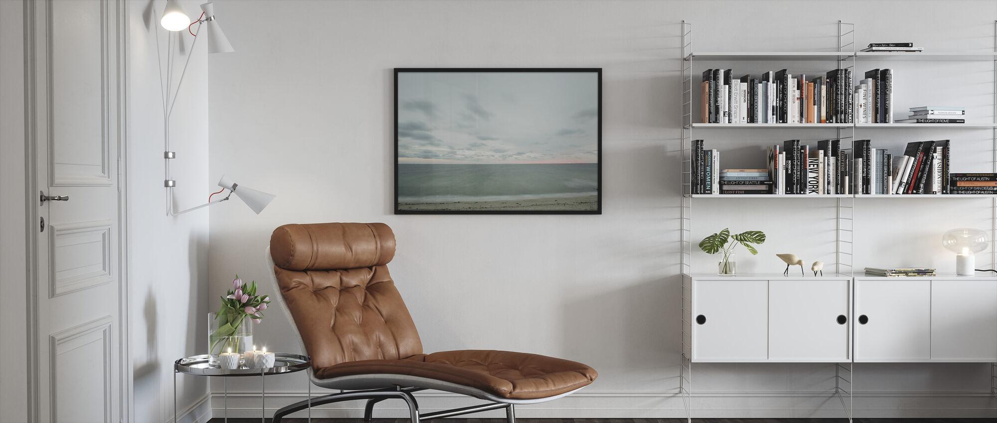 Marthas Vineyard Beach - Framed print - Living Room