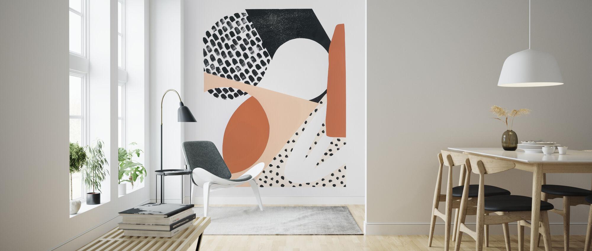 Luminous Tumble I - Wallpaper - Living Room