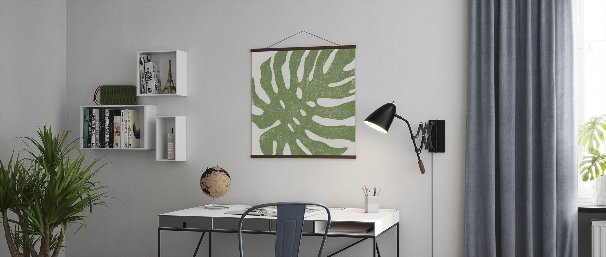 Tropical Treasures I - Poster - Office