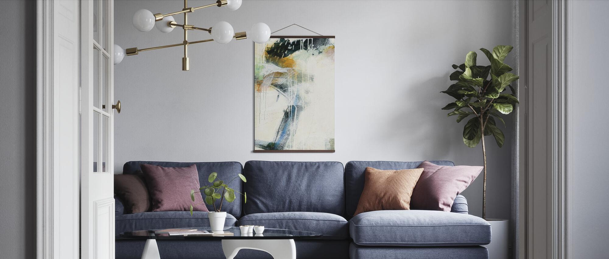 Turbulenz II - Poster - Wohnzimmer