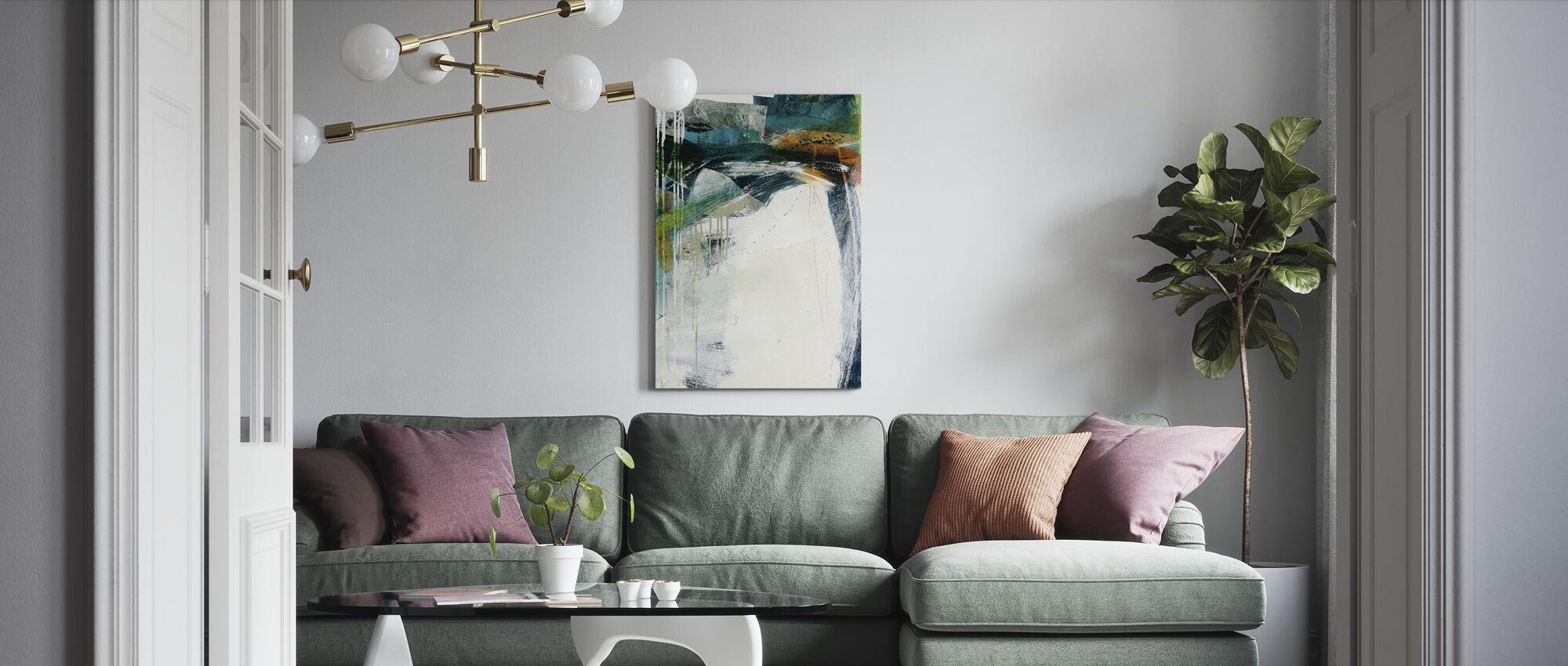 Turbulence iii - Canvas print - Living Room