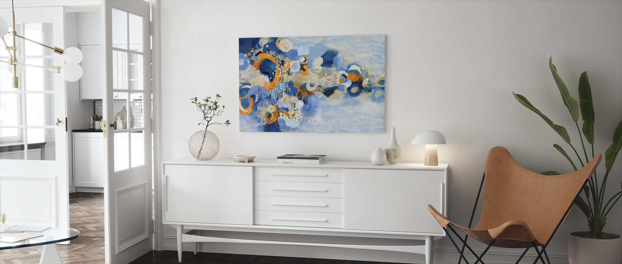 Nantucket Summer - Canvas print - Living Room