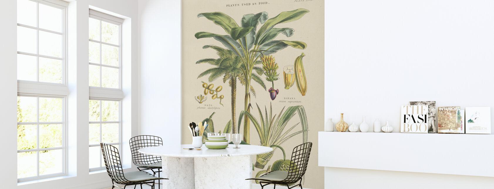 Fruit Trees - Wallpaper - Kitchen