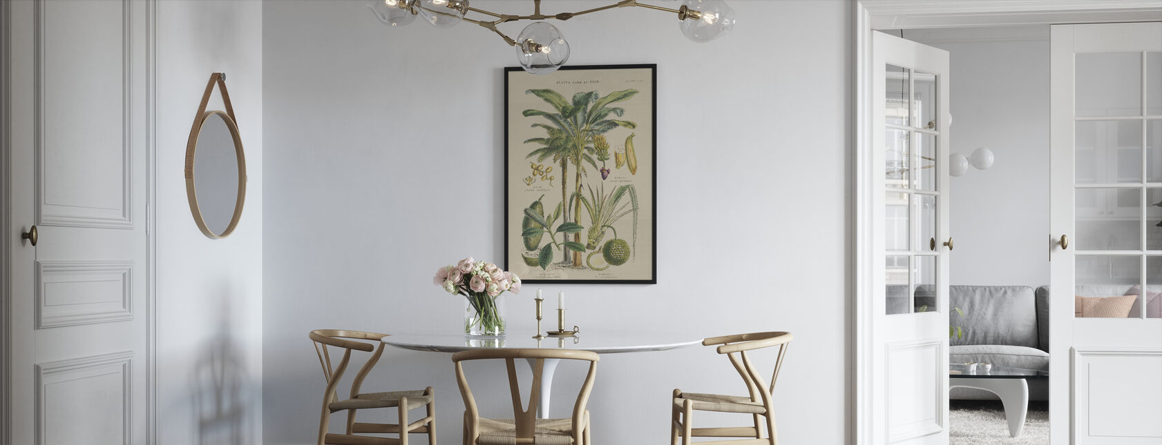 Fruit Trees - Framed print - Kitchen